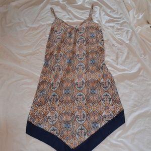 Cute Lightweight Summer Print Dress S